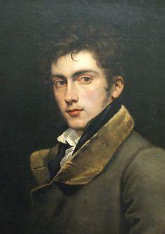 The Sixth Duke | pastmalebeauty: Carl Begas - Self-portrait c.1820