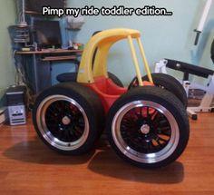 Toddler ride...