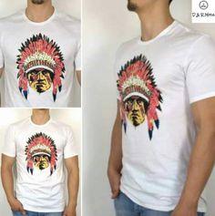 "T-shirt Tomahawk SG ""Penacho Colores"""