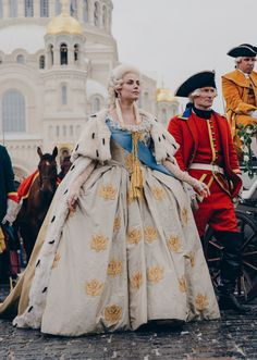 catherine-the-great-tv: Catherine the Great 2015, tv series. Yuliya Snigir as Catherine Alexeevna [official trailer].November 4, 2015 - premiere! the first episode of Catherine the Great!