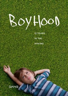"""Boyhood (2014): """"The film tells a story of a divorced couple (Ethan Hawke and Patricia Arquette) trying to raise their young son (Ellar Coltrane). The story follows the boy for twelve years, from first grade at age 6 through 12th grade at age 17-18, and examines his relationship with his parents as he grows."""" (Wiki)  Filmed over a period of 12 years, using the SAME cast in the movie.  Pretty amazing.  Highly rated movie. -Diana W."""