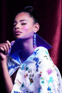 Malaika Firth models this season's key looks Seasons, Model, Beauty, Design, Seasons Of The Year, Scale Model, Beauty Illustration