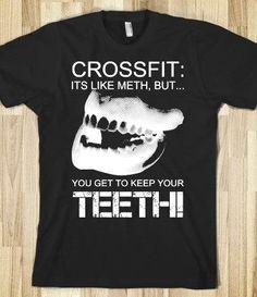 Crossfit is like Meth...