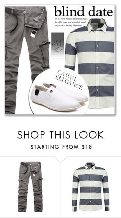 """""""Casual Look :: Man's Fashion"""" by jecakns ❤ liked on Polyvore featuring men's fashion, menswear, casual, MensFashion, blinddate and rosegal"""