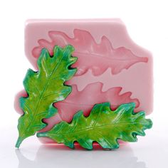 Large Oak Leaf Silicone Mold  Food Safe Flexible by MoldMeShapeMe