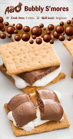 Enjoy everyone's favourite part of camping — without the campfire! Made with delicious AERO Milk, graham wafer squares and marshmallow, this is one seriously quick and easy treat that's guaranteed to be a hit with the whole family. Click to discover the full recipe