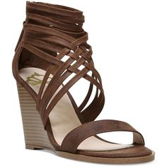 4d890017f39c19 Fergalicious Hunter Wedge Strappy Sandals ( 59) ❤ liked on Polyvore  featuring shoes