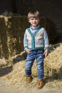 Piccoli/grandi ometti con Lane Mondial #lanemondial #extrafine #filato #bambini #mondial #lana #winter #yarns #fashion #models #cardigan