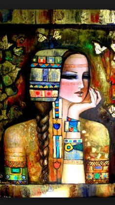 Syrian artist lamis alhamawi