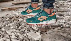 Love these Asics Gel Lyte III so much! Collab with Ronnie Fieg #sneakers