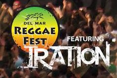 Del Mar Reggae Fest tonight (Nov. 21, 2015) with Iration, todays high temp expected to be in the low 80's....perfect weather for some good music under the sun