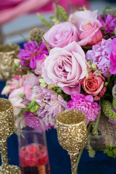 Gold Wedding Inspiration for Your Lowcountry Wedding! Purple Wedding, Gold Wedding, Wedding Colors, Wedding Flowers, Dream Wedding, Wedding Day, Purple Party, Wedding Blog, Destination Wedding