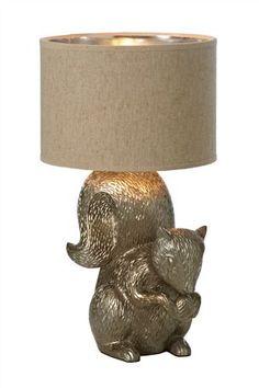squirrel lamp!