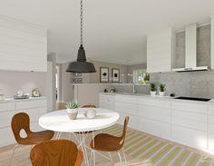 """58 gilla-markeringar, 10 kommentarer - Välkommen till SmålandsVillan! (@smalandsvillan) på Instagram: """"Köket i Villa Fredriksdal #smålandsvillan #matplats #kök #nybyggnation #bygganytt #inspiration…"""""""