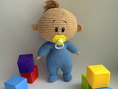 Amigurumi Emzikli Bebek Yapımı 9