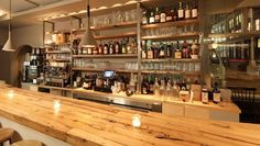We love the bar scene at Back Forty West in the heart of #WestVillage