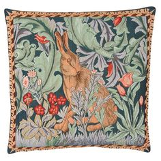 William Morris Cushion Hare Right