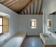 John Pawson's refurbishment of an Estate in Montemaggio, Tuscany. From El Croquis No. 158.