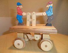 A wooden handcart for #kids. http://www.1-2-do.com/de/projekt/Draisine-fuer-Kinder/bauanleitung-zum-selber-bauen/16648/