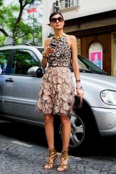 Giovanna Battaglia Street Style #PurelyInspiration
