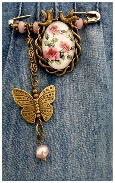 🌹Vintage Inspired Safety Pin Brooch~Scarf/Shawl/Hijab Pin/Kilt Pin🌹 in Jewellery & Watches, Costume Jewellery, Brooches & Pins | eBay!