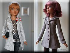 Doll clothes sewing patterns - Freebies