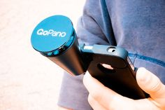 GoPano micro includes everything you need to create, share and experience 360º video. A custom-designed iPhone case stays on your phone. When you want to shoot in 360º, attach the GoPano micro to the case by just plugging it in.