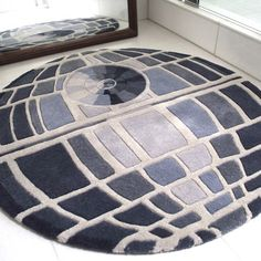 This will be mine in the future. Woo. Custom size so it'll be a long time until I received it but I can wait. #deathstar #rug #starwars