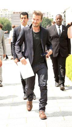 david beckham fashion week 2013 - Google Search