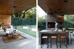 House Extension Design, House Design, Pool Houses, Backyard Patio, Outdoor Furniture, Outdoor Decor, Beautiful Gardens, Outdoor Living, Pergola