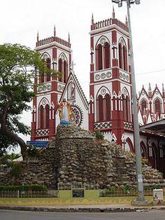 Basilica of the Sacred Heart of Jesus, Pondicherry, India