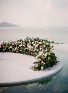 Elegant floral wedding ideas in Phuket Thailand