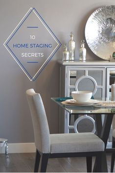 Do you know how to stage a house for a quick sale? These home staging tips will teach you how to get top dollar for your house and fast. Sell Your House Fast, Selling Your House, Shabby Chic Banners, Home Staging Tips, Home Repairs, Home And Deco, Home Reno, Home Improvement Projects, Home Buying