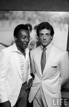 Pele and Sylvester Stallone | tihomalko