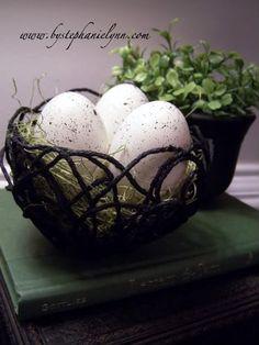 PB inspired yarn nests