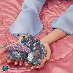 repost from @pleasemagazine Biggest piece of jewelry ever seen! Diamonds, rubies and pink sapphires for this Walace Chan brooch photo by moi #pleasemagazine #highjewelry #editorial#instarepost20