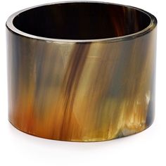 Robert Lee Morris Soho Buffalo Horn Cuff ($47) ❤ liked on Polyvore featuring jewelry, bracelets, tortoise, tortoise shell bangle, cuff bangle, tortoise bangle, robert lee morris and tortoiseshell jewelry