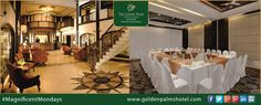 At The Golden Palms Hotel & Spa, Mussoorie your corporate events can never go wrong. Visit www.goldenpalmshotel.com for details. #MagnificentMondays