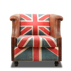 Yeah, this arm chair looks STYLICIOUS. In the year of the Olympics in London bring a bit of British kitch to your home! Perfect for watching the Games in if you didn't manage to get tickets. You will be comfy and not crushed on the tube to get there. INR 19,999