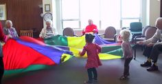 Preschool in a nursing home is the best idea we've heard in ages