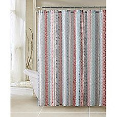 image of Colette Fabric Shower Curtain