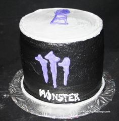 3D Monster Can. Item 1000. This cake is a 3D replica of Monster energy drink ...abccakeshop.com