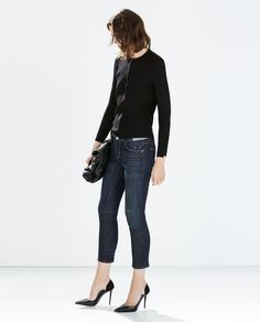 CIGARETTE JEANS-Jeans-WOMAN-SALE | ZARA United States