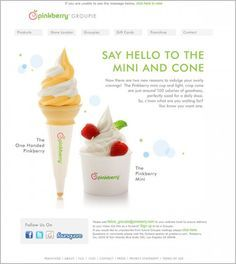 newsletter for new product launch - Google-søgning