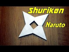 My Paper: 1 printer paper Size: How To Make a Paper Ninja Star (Shuriken) - Origami Welcome to my origami tutorial on how to make a paper ninja star/ Shur. Origami Naruto, Instruções Origami, Origami Ball, Origami Bookmark, Origami Stars, Origami Boxes, Origami Flowers, Shuriken, Oragami Ninja Star