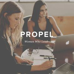 """From today's LifeNotes . .   """";YESSSSS!' was my exclamation when @ChristineCaine began sharing her heart for Propel Women . . """" @JenniCatron  Catch Jenni and """"Propel Women"""" . . at LifeNotes . . the Cafe blog . ."""