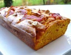 Cake salé au potimarron et au bacon - Recettes de cuisine Ôdélices