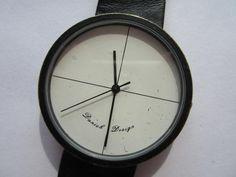 white dial minimal watch by Danish Design