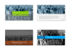Some of the #PowerPoint #presentation cover slides we've created are stored on Behance. Check them here: http://on.be.net/1CHZlHA #slidedesign
