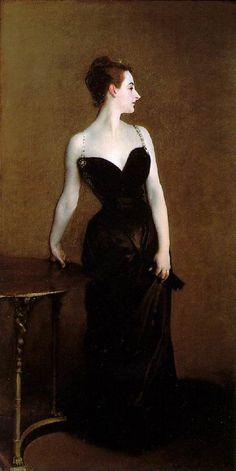 Madam X by John Singer Sargent, 1884.